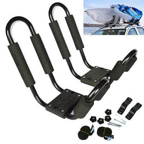 Kayak / Canoe Carrier for Car Roof Rack J Bars and Straps UK