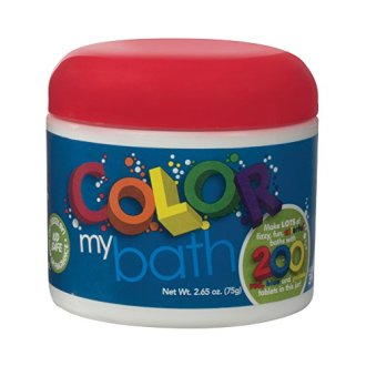 Color My Bath Fizzy, Fun, Colorful Bath, 2.65 Oz (200 Tablets)