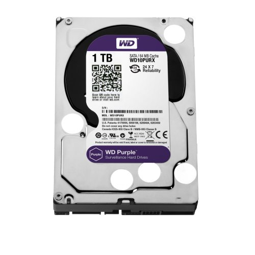 Western Digital Purple 1000gb Serial Ata Iii Internal Hard Drive