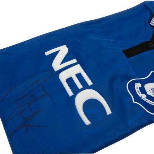 Everton F.C. Duncan Ferguson 1995 Signed Replica Shirt
