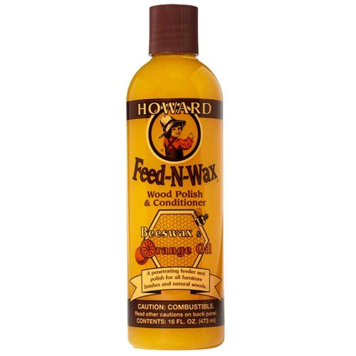 Howard Feed-N-Wax Wood Polish & Conditioner