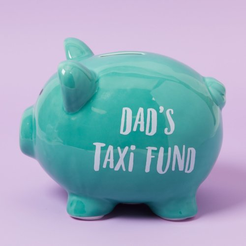Pennies & Dreams' Ceramic Pig Money Bank - For Father's Day Special Gift