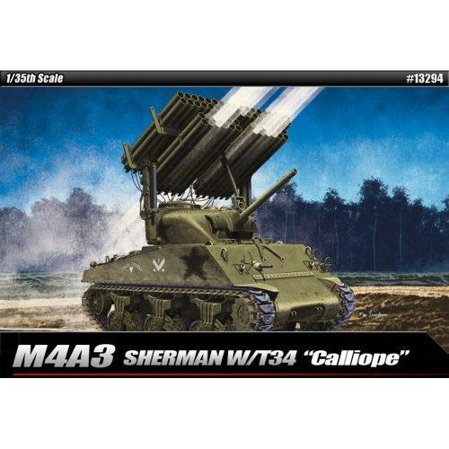 Aca13294 - Academy 1:35 - M4a3 Sherman Calliope