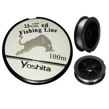 GLOW High Quality Size 3.5 Japanese Yoshita Braided Nylon Fishing Line – Super Strong 100m Spool Reel of Smooth Clear 0.30mm Bite and Waterproof Thread with 8.60kg / 19lbs Tension Break Capacity Point – Extremely Accurate Casting Ability and Tolerate