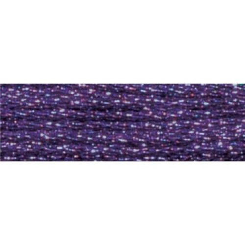 DMC Light Effects Embroidery Floss 8.7yd-Purple Ruby
