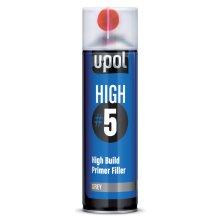 Upol HIGH 5 High Build Primer Grey - Aerosol 450ml