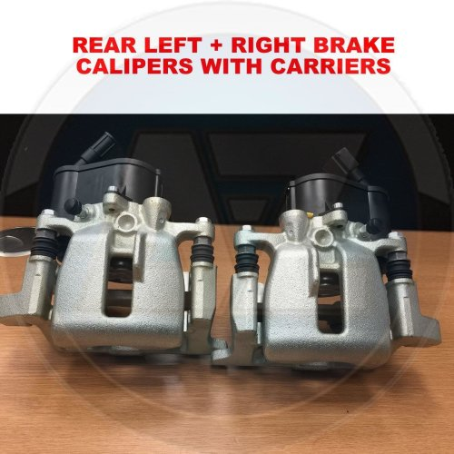 FOR AUDI A6 2006-2011 ALLROAD ALL ROAD REAR ELECTRIC HAND BRAKE CALIPERS X2