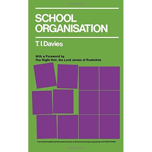 School Organisation: A New Synthesis