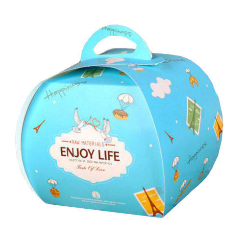 100PCS Cute Boxes With Handle For Pack Candies,Cake,Other Gift,in Party,Birthdays,and other Events,G