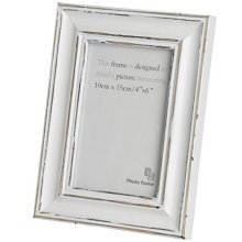 4 X 6 Antique White Photo Frame
