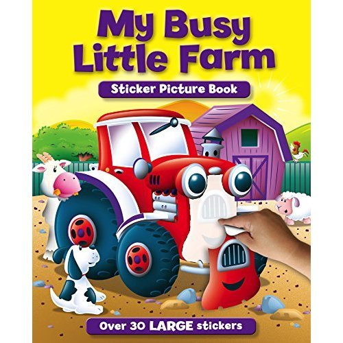 Sticker and Activity Book: My Busy Little Farm (S & A Sticker Pictures)