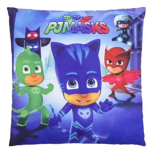 PJ MASKS Square HEROES Pillow Cushion 35cm x 35cm