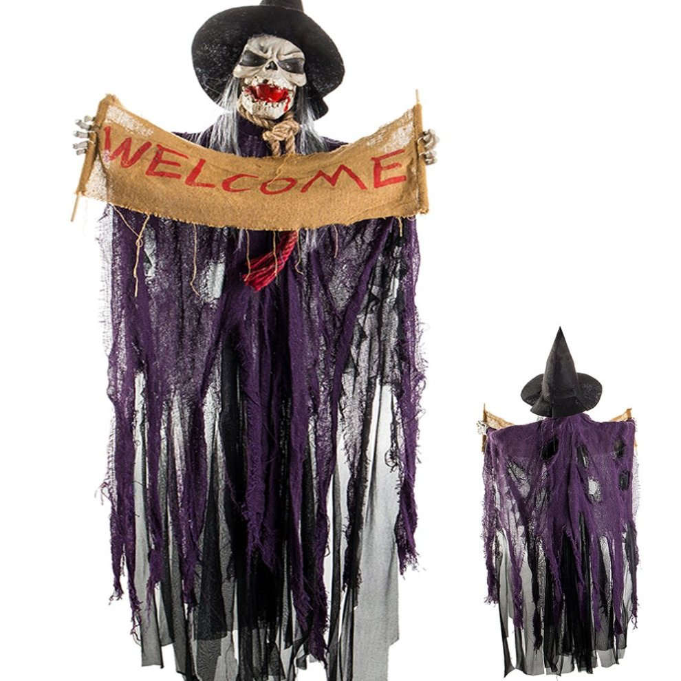 Halloween Hanging Ghost Skeleton Decorations Scary Witch