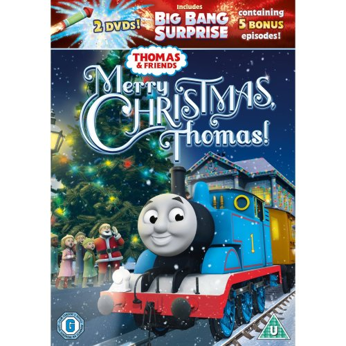 Thomas & Friends Merry Christmas, Thomas! [DVD] New Sealed Incl. Big Bang Surprise