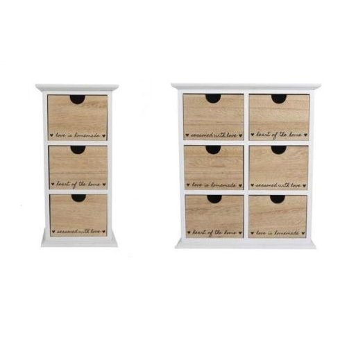 3/6 Drawer Unit Cabinet Organizer Chest Of Draws Tower Table Bedroom Furniture