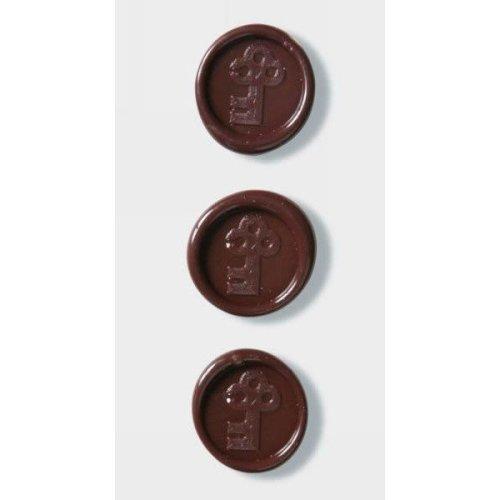 Brown Keys Wax Seals By Artoz