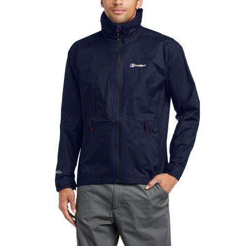 Berghaus Waterproof Stormcloud Men's Outdoor Hooded Jacket available in Dusk/Dusk - Large