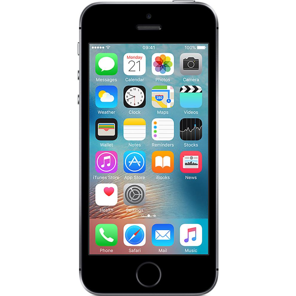 EE, 64GB Apple iPhone SE - Space Grey