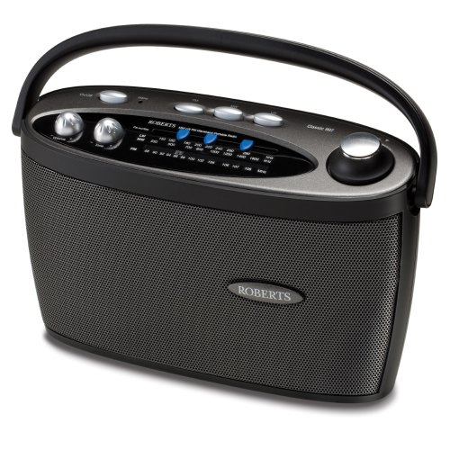 Roberts Classic997 3 Band LW/MW/FM Portable Radio - Black