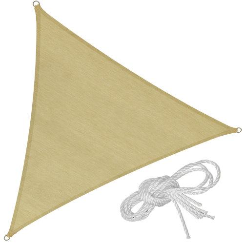 Sun shade sail triangular 400 x 400 x 400 cm