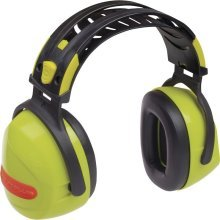 Delta Plus INTERLAGOS Safety Ear Defenders SNR 33 dB (Yellow or Grey)