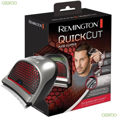 Remington Men Quick Cut Home DIY Hair Clipper Rechargeable Shaver Kit Set HC4250