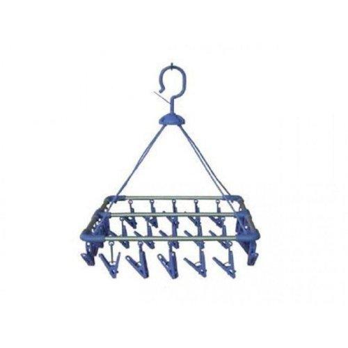 OLPRO Aluminium Clothes Hanger (33x33) – 20 pegs