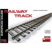 Min35561 - Miniart 1:35 - Railway Track European Gauge