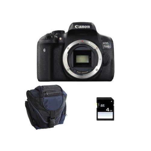CANON EOS 750D Body + Canon Bag+8gb SD card