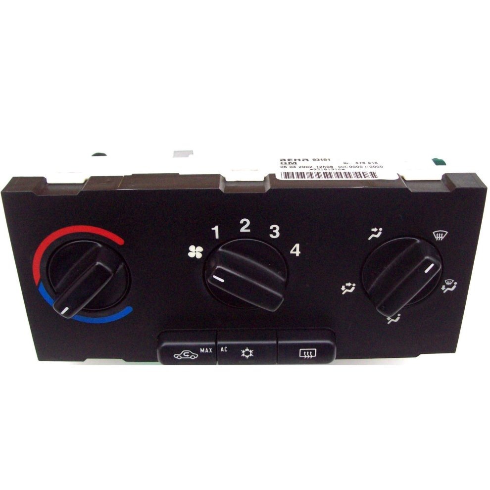 Vauxhall Zafira Behr Climate Heater AC Control Panel 93101