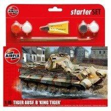 Air55303 - Airfix Medium Starter Set - 1:76 - King Tiger Tank