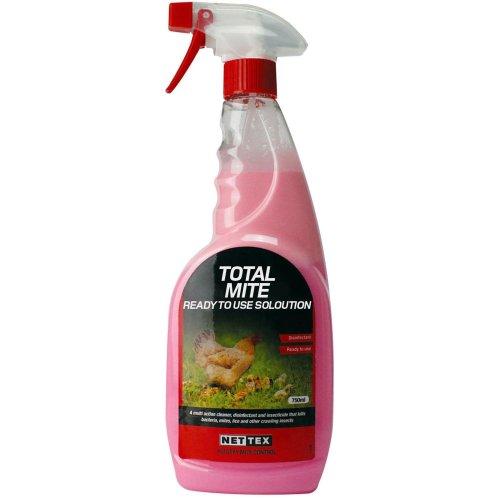 Nettex Total Mite Kill Spray 750ml