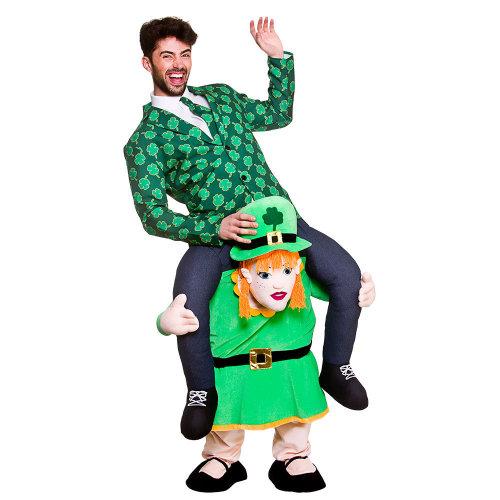 Carry Me Irish Leprechaun Lass Costume