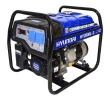 Hyundai HY2800L-2 Recoil Start Site Petrol Generator 2.2kW 230v