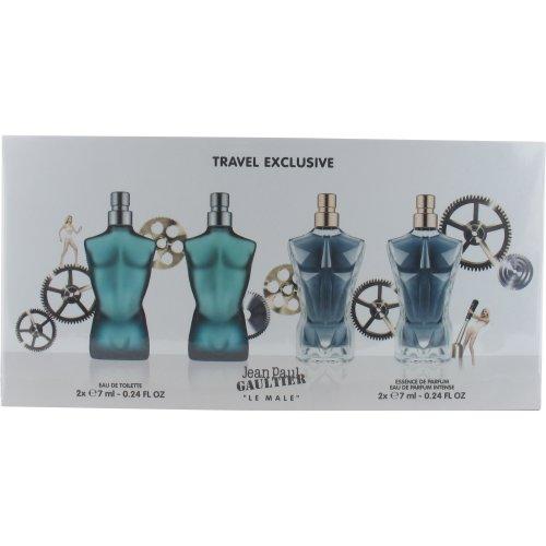 Jean Paul Gaultier Le Male and Le Male Essence Miniature Set