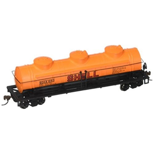 Bachmann Industries Shell #1253 40 Three-Dome Tank Car (HO Scale Train)