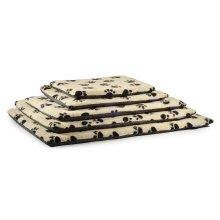 Sleepy Paws Paw Print Flat Pads Cream 5pc Set