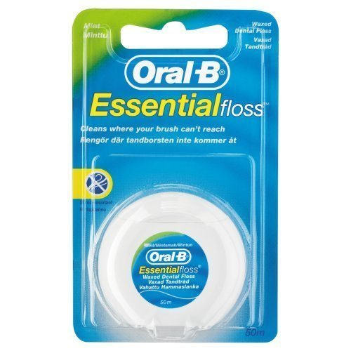Oral-B Essential Floss Mint Waxed 50, Medium