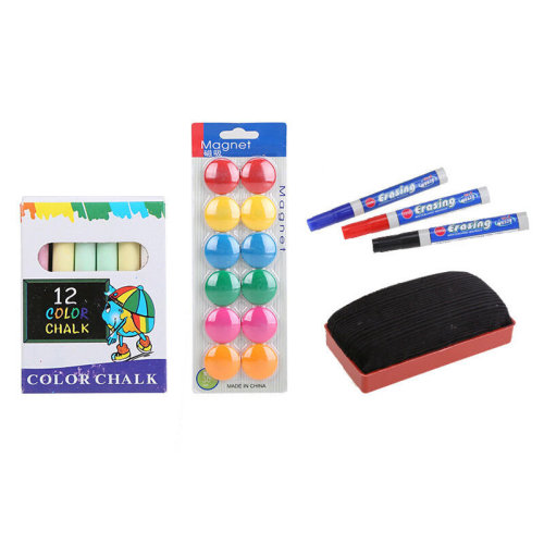 Kids Foldable Double Sided Magnetic Drawing Board with Accessories