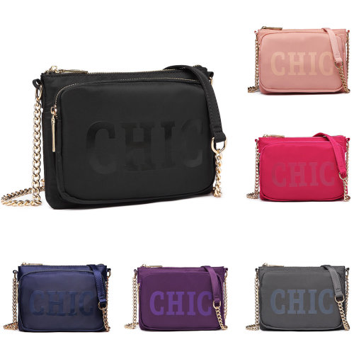 Miss Lulu Women s  Chic  Cross Body Chain Bag on OnBuy c9c722a4b2297