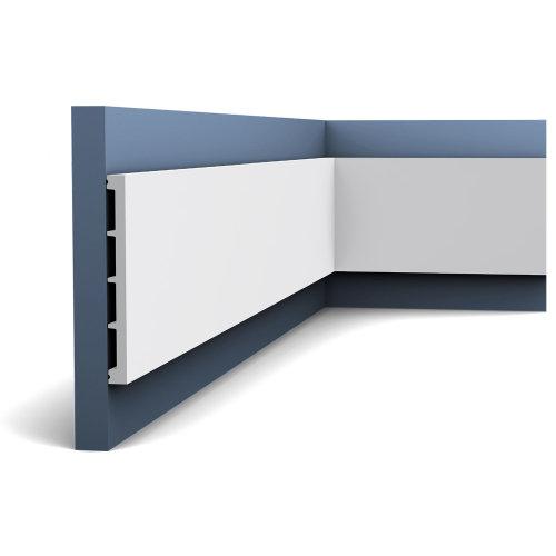 Orac Decor DX168-2300 AXXENT Door Frame Skirting Panel Moulding | 2.3 m