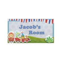 Jacob My Room Sign