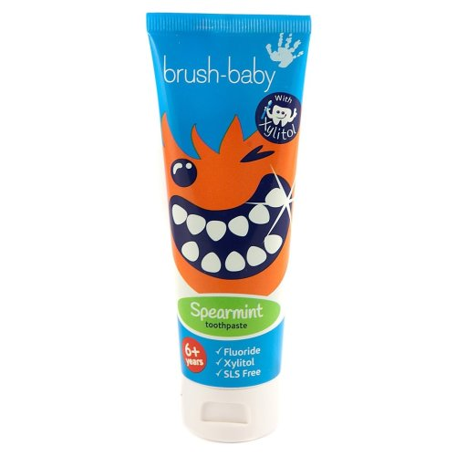 Brush-Baby Children's Spearmint Toothpaste 6 Years plus