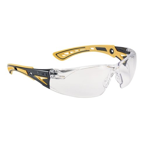 Bolle RUSH+ RUSHPPSIY Safety Glasses - Clear Lens