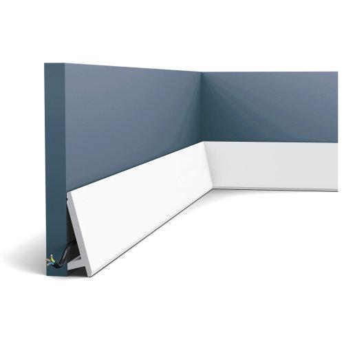 Orac Decor SX179 MODERN DIAGONAL Skirting Decorative moulding Baseboard 2 m