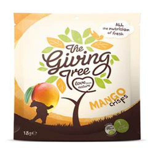 Giving Tree Ventures Freeze Dried Mango Crisps 18g (order 48 for Trade Outer)