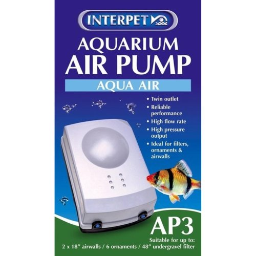 Aquarium Air Pump Aqua Air Ap3