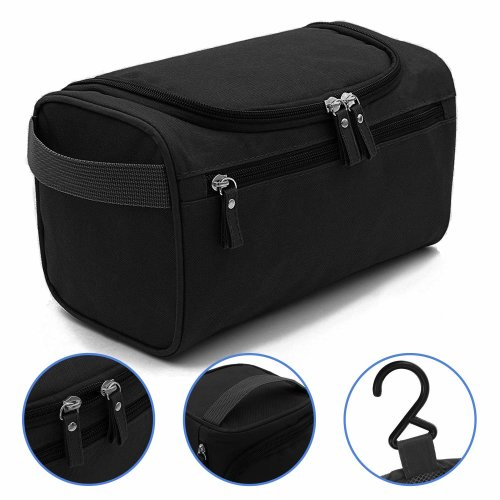b84df00dca98 Wash Bag Mens,AOBETAK Large Hanging Waterproof Toiletry Bag with Mesh and  Zip Compartment,Overnight Gym Shaving Travel toiletries Set kit for Men...