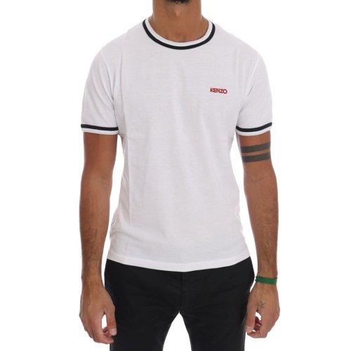 c6de946ea55b Kenzo White Cotton Mens Crewneck T-Shirt on OnBuy