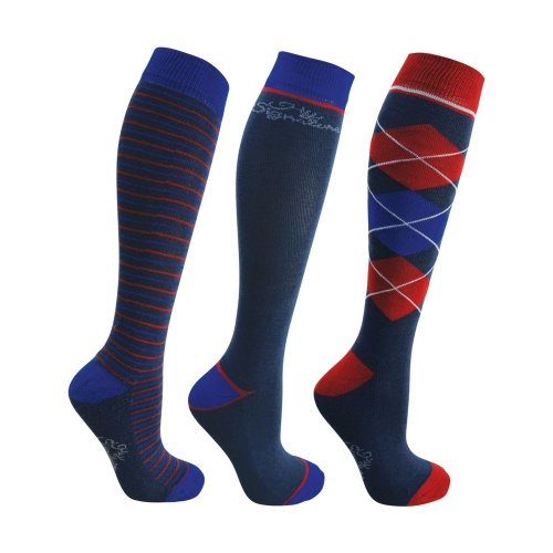 Hy Adults Signature Socks (Pack of 3)